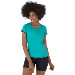 Camiseta Oxer Sweety 4 - Feminina - VERDE/AZUL ESC