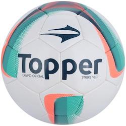 Bola de Futebol de Campo Topper Strike VIII - BRANCO/VERDE