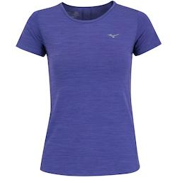 Camiseta Mizuno Aspen - Feminina - ROXO