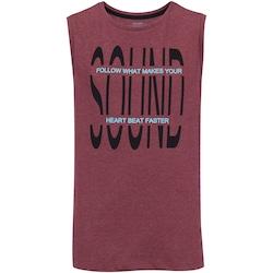 Camiseta Regata Oxer Sound - Masculina - VERMELHO