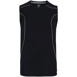 Camiseta Regata Oxer Endurance - Masculina - PRETO/CINZA ESC