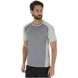 Camiseta Oxer Mix Melange - Masculina - CINZA