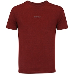 Camiseta Oxer Mesh Melange - Masculina - VINHO