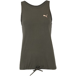 Camiseta Regata Puma Transition - Feminina - VERDE ESCURO