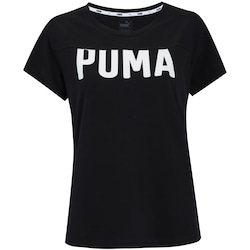 Camiseta Puma Athletic - Feminina - PRETO