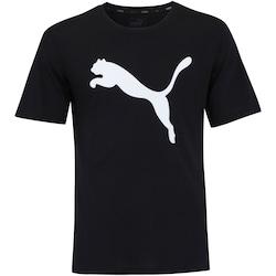 Camiseta Puma Evostripe Boyfriend - Feminina - PRETO