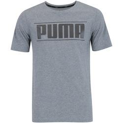 Camiseta Puma Rebel Trape - Masculina - CINZA