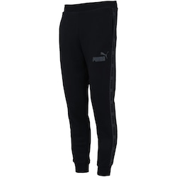 Calça de Moletom Puma Rebel Tape Sweat Pants FL - Masculina - PRETO