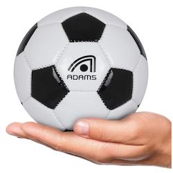 Minibola de Futebol de Campo Adams Classic - BRANCO/PRETO
