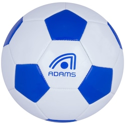Bola de Futebol de Campo Adams Classic - BRANCO/AZUL