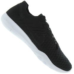 Tênis Nike Free TR Flyknit 2 - Feminino - PRETO/BRANCO