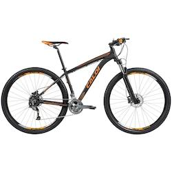 Mountain Bike Caloi Moab - Aro 29 - Câmbio e Freio Hidráulico Shimano - 27 Marchas - PRETO