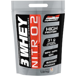 Whey Protein New Millen 3Whey Nitro 2 - Baunilha - 1,8Kg