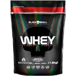 Whey Protein Black Skull - Whey 100% - Chocolate - 1,8kg