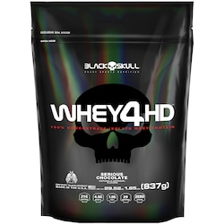 Whey Protein Black Skull - Whey4Hd - Chocolate - 837g