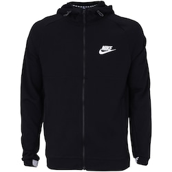 60e3d4f7c0 Jaqueta Com Capuz Nike Sportswear Av15 Hoodie Fz Flc - Masculina - Preto