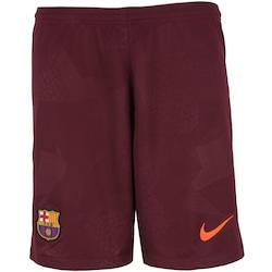 Calção Barcelona III 17/18 Nike - Masculino - VINHO