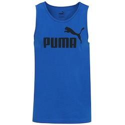 Camiseta Regata Puma Ess No.1 - Masculina - AZUL