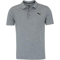 Camisa Polo Puma Ess Jersey - Masculina - CINZA