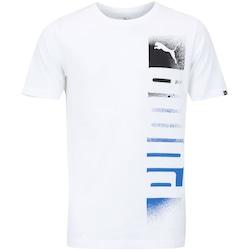Camiseta Puma Shade Logo - Masculina - BRANCO