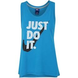 Camiseta Regata Nike Sportswear Tank JDI Prep - Feminina - AZUL