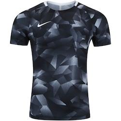 Camiseta Nike Squad Top SS CL - Masculina - PRETO/BRANCO
