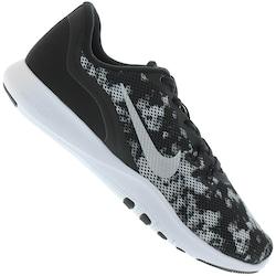 Tênis Nike Flex Trainer 7 Print - Feminino - PRETO/BRANCO