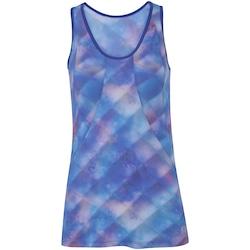 Camiseta Regata Oxer Recorte BF17 - Feminina - AZUL
