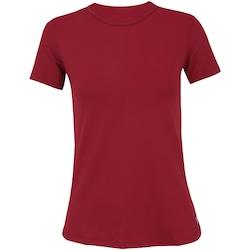 Camiseta Oxer Alongada - Feminina - VERMELHO