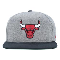 Boné Aba Reta Nike Nba Chicago Bulls Aerobill - Snapback - Adulto - Cinza abcc5ba7314