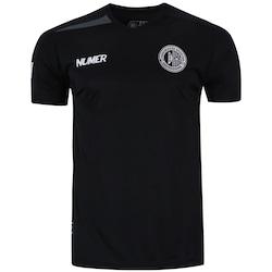 Camisa Do Asa De Arapiraca Comissão Técnica 2017 Numer - Masculina -  Preto cinza Esc 50b2725c1bd