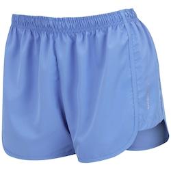 Shorts Oxer Corrida BF17 - Feminino - AZUL CLARO