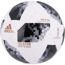 08f4aaf24c Bola De Futsal Telstar Oficial Copa Do Mundo Fifa 2018 Adidas Sala 65 -  Branco