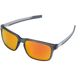 6c5392dbd1049 óculos De Sol Oakley Holbrook Mix Prizm Polarizado - Unissex -  Cinza vermelho