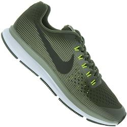 Tênis Nike Zoom Pegasus 34 - Infantil - VERDE ESC/PRETO