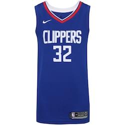 Camisa Regata Nike Nba Los Angeles Clippers Swingman Jersey Road - Masculina  - Azul Esc branco 06e0594c88