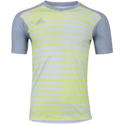 Camisa de Goleiro adidas Adipro 18 - Masculina - CINZA CLA/AMAREL CLA