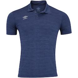 Camisa Polo Umbro TWR Bicolor Pro New - Masculina - AZUL ESCURO