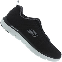 Tênis Skechers Flex Advantage 2.0 The Happs - Masculino - PRETO/BRANCO