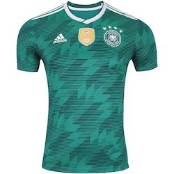 f4618f8212 Camisa Alemanha Ii 2018 Adidas - Masculina - Verde Escuro