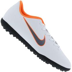 c11f9ad6026ca Chuteira Society Nike Mercurial Vapor X 12 Club Tf - Adulto - Branco cinza