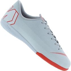 Chuteira Futsal Nike Mercurial Vapor X 12 Academy GS IC - Infantil - CINZA  CLA VERMELHO. na loja Centauro BR por R  244.99 0cfe20c263579