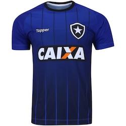 Camisa de Treino do Botafogo 2018 Topper Masculina AZUL