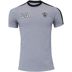 Camisa do Atlético-MG Concentração Atleta 2018 Topper - Masculina - CINZA