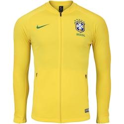878d15bdd4 Jaqueta Da Seleção Brasileira 2018 Hino Nike - Masculina - Amarelo verde