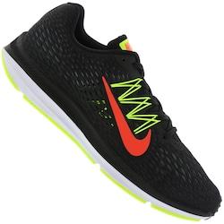 Tênis Nike Zoom Winflo 5 - Masculino - PRETO/VERDE CLA