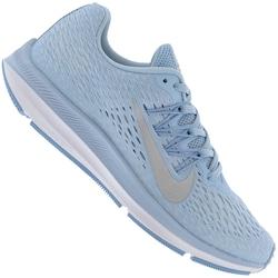 Tênis Nike Zoom Winflo 5 - Feminino - Azul Cla/Prata