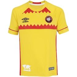 Camisa do Atlético-PR Nations El Huracan Umbro - Infantil - AMARELO/VERMELHO