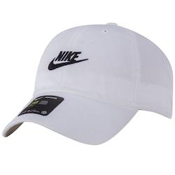Boné Aba Curva Nike Sportswear H86 Futura Washed - Strapback - Adulto -  Branco aeb88525d94