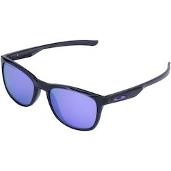 óculos De Sol Oakley Trillbe X Iridium Polarizado - Unissex - Preto roxo 11d7f0b141